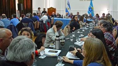 Reunión amplida. Además del repaso por cada una de las áreas ministeriales, se planificó la agenda legislativa de los próximos meses.