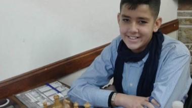 El joven chubutense Sebastián Moreno Pérez, continúa sumando experiencia en el ajedrez.