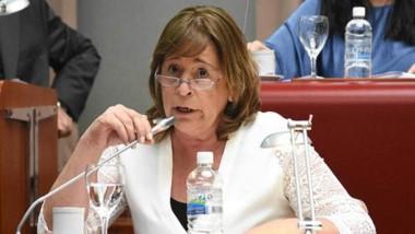 Alejandra Marcilla, presidente de la Comisión de Educación.
