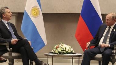 Macri y Putin trataron diversos temas de la cooperación bilateral.