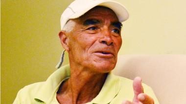 Amadeo Gallardo, titular de la Escuela de Atletismo y organizador.