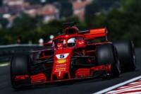 El alemán de Ferrari se mantuvo a la cabeza de las prácticas libres en el segundo turno y se quedó con el mejor tiempo del día.