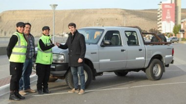 La camioneta será destinada al área de Seguridad Urbana y Vial.