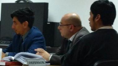 Martín Napal  se encuentra detenido preventivamente en Comodoro.