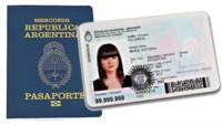 El valor del DNI será de 300 pesos, mientras que el pasaporte pasará a costar 1500 pesos.