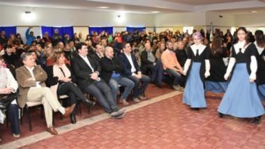 El acto central se desarrolló en el Centro Comunitario de la localidad de 28 de Julio.
