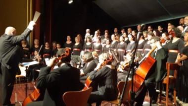 Aniversario musical. El espectáculo de la Misa Tango contó con artistas de nivel internacional, en un evento inédito en la Patagonia.