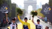 Geraint Thomas, nuevo campeón del Tour de Francia.