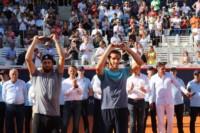 Mayer alcanzó una vez más la definición en #Hamburgo, donde aseguró haber jugado los mejores partidos de su carrera. Basilashvili levantó por primera vez un trofeo ATP