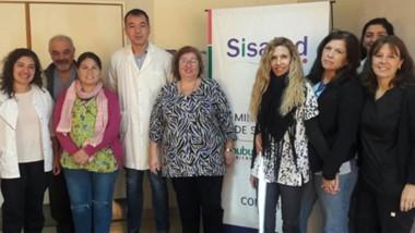 Integrantes. El Hospital de Comodoro Rivadavia festeja sus 50 años este 1º de agosto y habrá festejo.