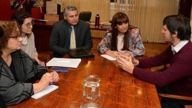 Encuentro. Referentes de ambos ministerios discutieron como implementar la nueva tecnología.