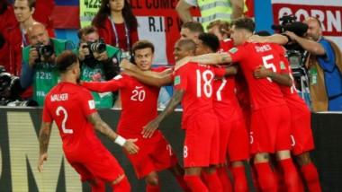 Kane, de penal, marcó el único tanto en el encuentro. Lleva 6 en el Mundial y es el máximo goleador.