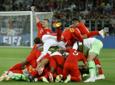 Inglaterra debió llegar hasta los penales para eliminar en octavos a Colombia.