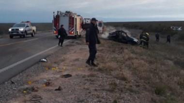 El Chevrolet era manejado por Gerardo Chicaval, de 42 años, quien estaba acompañado por Antonella Alfaro, de 25 y mamá de la beba, así como de Miguel Botana, de 27.