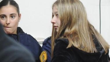 Tiene 19 años. Fue condenada a 20 años...