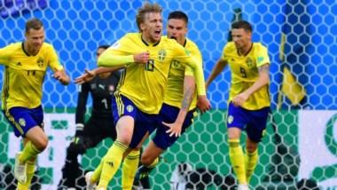 Suecia se consagra como la sorpresa del Mundial tras eliminar a Suiza.
