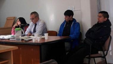 Diego Urrutia negó su participación en los robos con campera ajena.