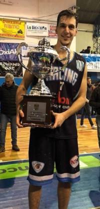 Leandro Cecchi, campeón del TFB.