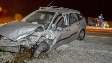 Choque. El siniestro fue espectacular y causó una muerte, según confirmó la Policía que intervino anoche.