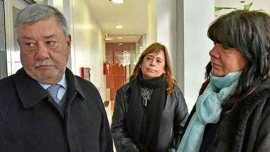Pesquisa. Desde la izquierda, Meza Evans, Marcilla y Dufour ensayaron sus propias hipótesis del caso.