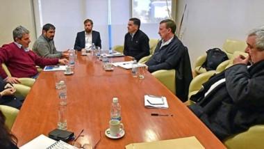 El encuentro del pasado martes en Legislatura entre el ministro Alonso y los diputados provinciales.