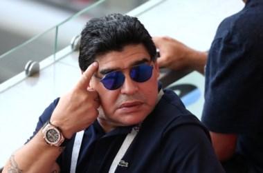 """Diego Maradona pide disculpas por la frase """"un robo monumental"""" a Colombia."""