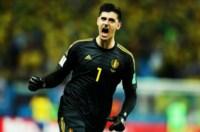 Con enormes atajadas, Courtois fue la figura del partido ante Brasil.