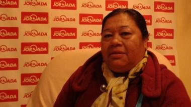 Alejandra Ríos, responsable del Comedor Infantil del barrio 1ª Junta.