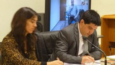 Martín Cárcamo y Lorena Garate, de la Fiscalía de Comodoro Rivadavia.