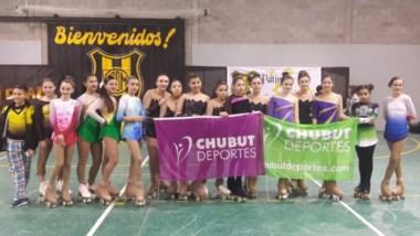 En el gimnasio de Deportivo Madryn, se realizó la instancia Provincial clasificatoria de Patín Artístico.