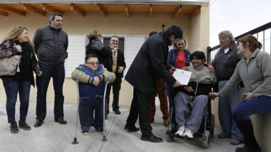 Fue un trabajo en conjunto entre la obra social Seros y el Instituto Provincial de la Vivienda (IPV).