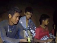 Ya fueron rescatados con vida los primeros 4 de los 12 niños tailandeses que se encuentran atrapados en una cueva.