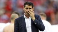 Fernando Hierro dejará de ser el DT de España.