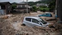Cuatro días de lluvia torrencial en Japón.