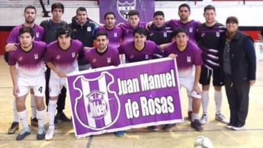 El equipo Juan Manuel de Rosas se coronó campeón del torneo Apertura 2018 en la división Masculino A.