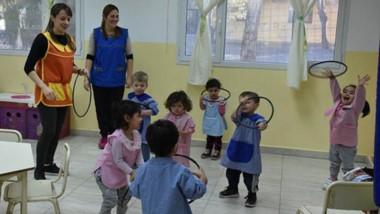 Habrá actividades recreativas en todas las sedes  de los Jardines Maternales de la ciudad.