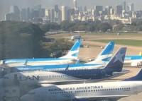 Las operaciones en Aeroparque sufren demoras y cancelaciones (foto archivo)