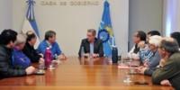 La emisión de los títulos para el pago a los proveedores fue uno de los temas principales del encuentro.