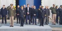 Del acto realizado en instalaciones de la Brigada Aérea participaron altas autoridades civiles y militares.