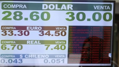 Luego de un breve período de tranquilidad, el dólar rozó los $30.