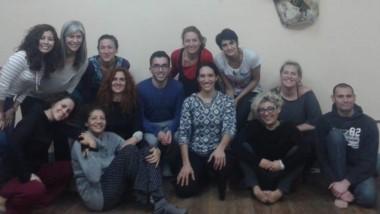 Participantes del Taller de Entrenamiento para Montaje Escénico.