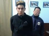 El violador David Nahuel López de 21, detenido en la casa de su tía.