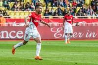 """El """"Tigre"""" Falcao marcó un tanto en la victoria de visitante del Mónaco."""