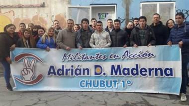 Los militantes de la agrupación de Adrián Maderna continúan con la apertura de espacios en Trelew.
