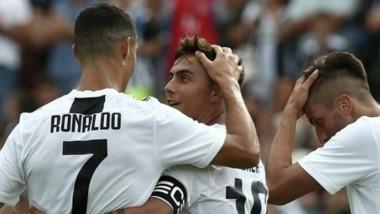 Cristiano Ronaldo tardó 8 minutos en marcar su primer gol con la camiseta de la Juventus.