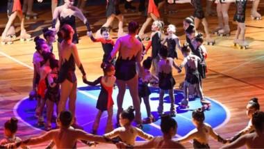 El Club de Patín de Trelew llevó adelante un gran show el sábado por la noche en el Gimnasio Municipal N° 1.