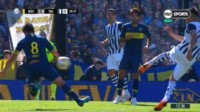 Facundo Tello, árbitro de Boca-Talleres, habló de la mano de Pablo Pérez: