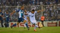 Racing no pudo mantener la diferencia y Atlético Tucumán lo empató en el final.