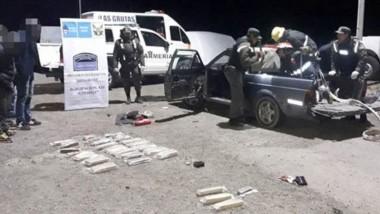 El estupefaciente era llevado por dos sujetos  a la ciudad de Bariloche.
