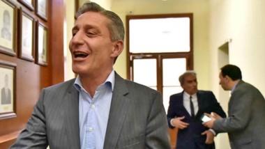 """Pelea. El gobernador Arcioni dijo que se harán los planteos en el Congreso de la Nación para """"defender todos los derechos adquiridos""""."""